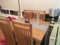 Great Buy dining table & 4 chairs
