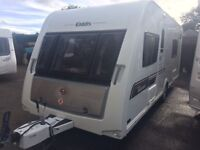 ELDDIS AVANTE 574- 2013- FIXED TWIN BEDS- END CHANGING ROOM- MOTOR MOVER
