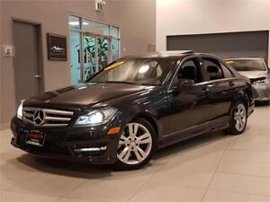 2012 Mercedes-Benz C-Class  C300 4MATIC-LEATHER-SUNROOF-ONLY 88K