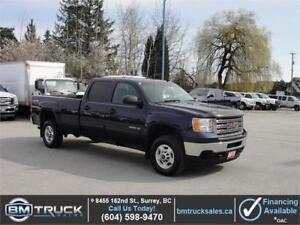 2012 GMC SIERRA 2500HD SLE CREW CAB LONG BOX 4X4