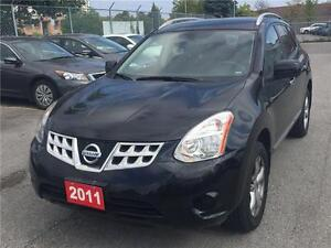 2011 Nissan Rogue SV AWD CAMERA, ONE OWNER CLEAN CARPROOF 2.5L