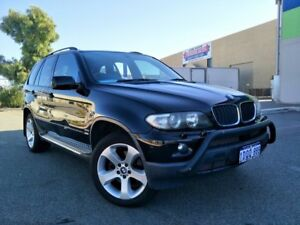 2004 BMW X5 E53 3.0D Black 6 Speed Automatic Wagon Malaga Swan Area Preview
