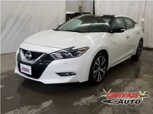 Nissan Maxima SL GPS Cuir Toit Panoramique MAGS Volant Chauffant
