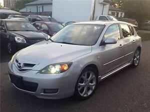 2007 MAZDA3 S GT GRAND TOURING | LEATHER | XENONS | HATCHBACK |