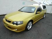 2005 Ford Falcon BA MkII XR6 Acid Rush 4 Speed Auto Seq Sportshift Utility Nowra Nowra-Bomaderry Preview