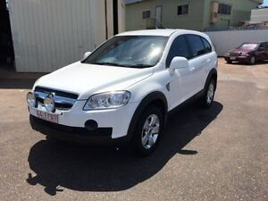 2007 Holden Captiva CG SX (4x4) White 5 Speed Automatic Wagon Holtze Litchfield Area Preview