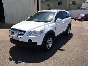 2007 Holden Captiva CG SX (4x4) White 5 Speed Automatic Wagon Darwin CBD Darwin City Preview