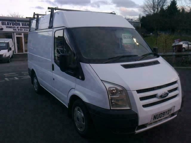 cf00f7a211 NO VAT.09 reg Ford Transit 2.2TDCi Duratorq ( 85PS ) ( Medium Roof ) Van  260 SWB