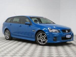 2012 Holden Commodore VE II MY12 SV6 Perfect Blue 6 Speed Automatic Sportswagon East Rockingham Rockingham Area Preview