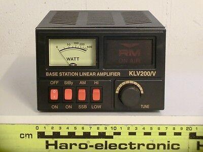 RM KLV-200V Röhren-Endstufe 26 - 30MHz /  200W PEP [968 18819]