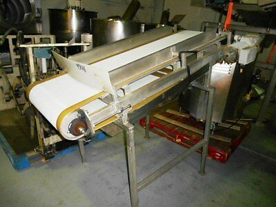 19 X 60 Inclined Perforated Belt Conveyor 43016