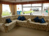 12ft static caravan for sale on Crimdon Dene , north east pet friendly park durham heratige coast