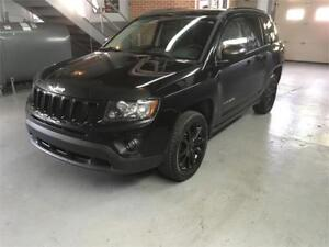2012 Jeep Compass Sport 4WD/SEIGE CHAUFFANT/4 CYLINDRE/MP3