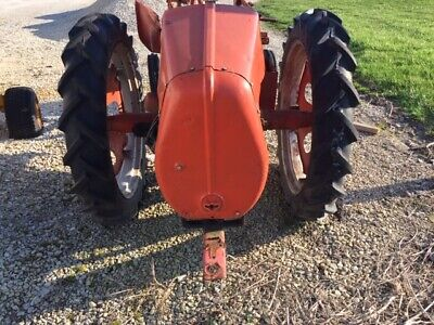 Allis Chalmers G Tractor 7.2 X 30 30 Good Year Tread 95 Tires Ac Rims Centers