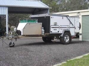 Campomatic Off Road Camper Trailer Hard Floor Rear Flip Spearwood Cockburn Area Preview
