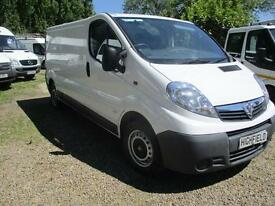 2013 Vauxhall Vivaro 2.0CDTi 115ps 2900 LWB NO VAT 70000 MILES GUARANTEED