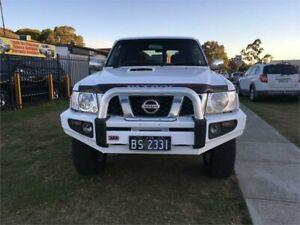 2012 Nissan Patrol Y61 GU 8 ST White Manual Wagon Ingleburn Campbelltown Area Preview