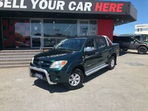 2005 Toyota Hilux GGN25R MY05 SR5 Utility Dual Cab 4dr Auto 5sp, 4x4 1050kg 4. Green Automatic Como South Perth Area Preview