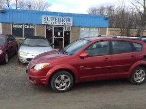 2005 Pontiac Vibe Fully Certified! No Accidents!