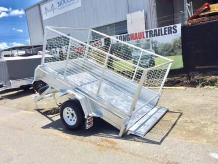 8x5 HEAVY DUTY Box Trailer 1400KG ATM Fully Galvanised & Welded Sumner Brisbane South West Preview