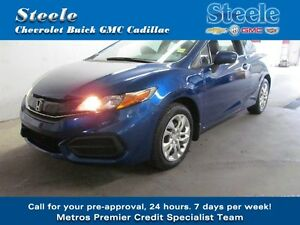 SPORTY SPORTY 2014 HONDA CIVIC DX COUPE One Owner...!!!!