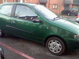 Fiat Punto,Excellent First Car,Reliable,Cheap and Sturdy.New brakes,gears,easy to maintain.