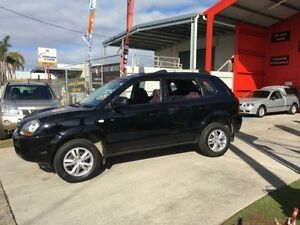 2009 Hyundai Tucson MY09 City SX Black 5 Speed Manual Wagon Clontarf Redcliffe Area Preview