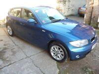 BMW 1 SERIES 116I SE (blue) 2007