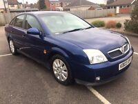 2003 Vauxhall Vectra 12 months mot low mileage 71,000 miles cheap car
