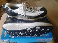 Skechers Shape Ups Size 8, as new, worn once on carpet to try out.
