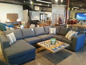Canadian Made U Shape Sectional From Manufacturer