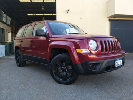 2012 Jeep Patriot MK MY12 Sport (4x2) Red 5 Speed Manual Wagon Malaga Swan Area Preview