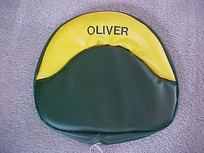 Oliver Tractor Seat Cushion For Oliver 60 66 70 77 80 88 Embroiderd