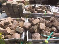 Pink Granite Setts For Sale