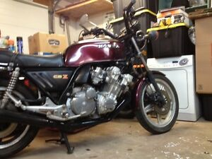 1979 HONDA CBX SIX CYLINDER COLLECTORS BIKE