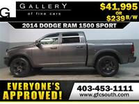 2014 DODGE RAM SPORT LIFTED *EVERYONE APPROVED* $0 DOWN $239/BW