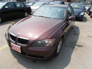 2006 BMW 325I Auto Leather Sunroof  Red Only 108,000Km