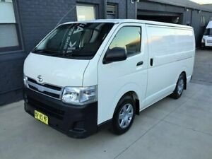 2013 Toyota HiAce KDH201R MY12 Upgrade LWB White 4 Speed Automatic Van Peakhurst Hurstville Area Preview