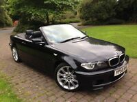 2006 (56) 318i M Sport convertible Manual heated seats