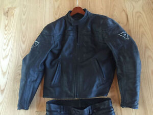 Men's Dainese Leather Motorcycle Jacket and Pants