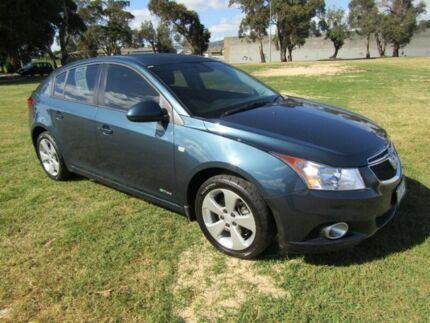 2014 Holden Cruze JH Series II MY14 Equipe Blue 6 Speed Sports Automatic Hatchback Invermay Launceston Area Preview