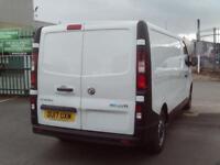 Vauxhall Vivaro 2900 L2 H1 1.6CDTI 120PS EURO 6 DIESEL MANUAL WHITE (2017)