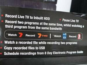 Digital TV Recorder 500GB HDD Record Live TV in box Merrylands Parramatta Area Preview
