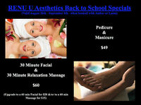 Back to School Pampering