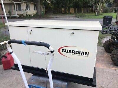Used Guardian 13k Watt Standby Generator - Local Pickup Only Win 100 Miles