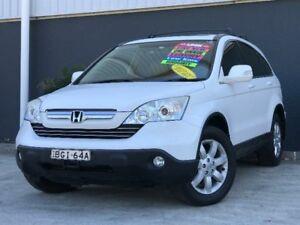 2008 Honda CR-V RE Luxury White Automatic Wagon