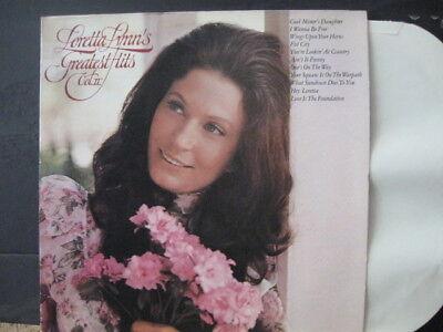 Loretta Lynn   Greatest Hits Vol 2      1974   Vinyl Lp   Mca Records Fist City