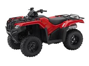 2017 Honda 420 Rancher DCT IRS EPS 1.9% 3 Yr Warr or Save $1000!
