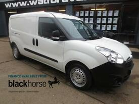 2015 Vauxhall Combo 1.6CDTi 105ps E/W Twin SLD Internal Racking Diesel white Man
