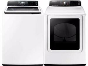 27' Washer Dryer Combo', White, Samsung
